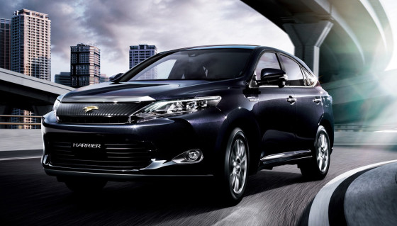 Фото Toyota Harrier 2014