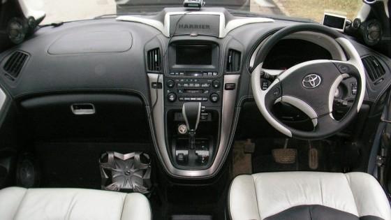 Приборная панель Toyota Harrier 2014