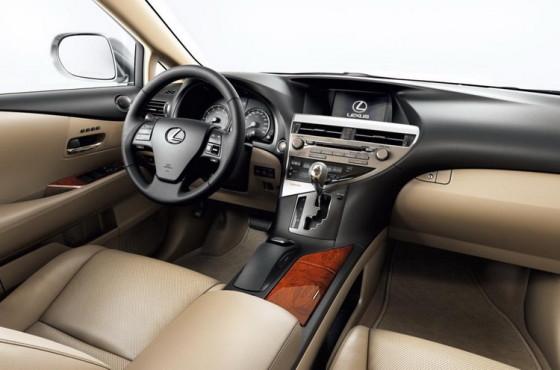 Приборная панель Lexus RX 270