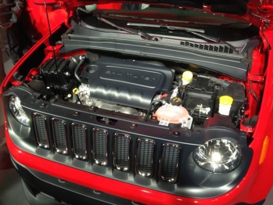 Двигатель Jeep Renegade