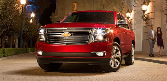 Технические характеристики Chevrolet Tahoe 2015