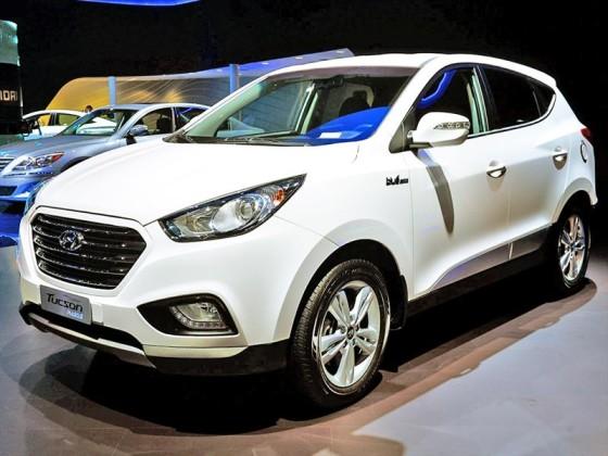 Внешний вид Hyundai Tucson 2014
