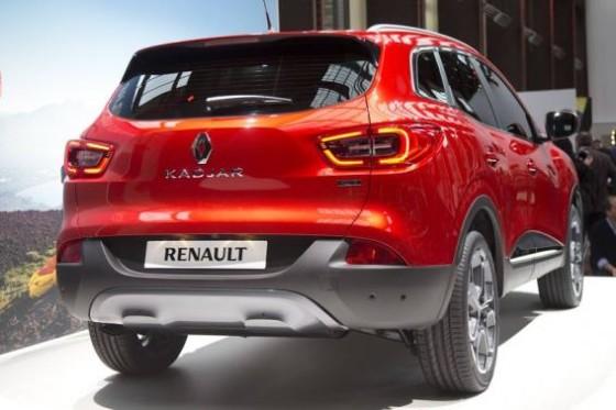 Renault Kadjar - фото сзади