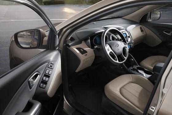 Интерьер Hyundai Tucson 2015