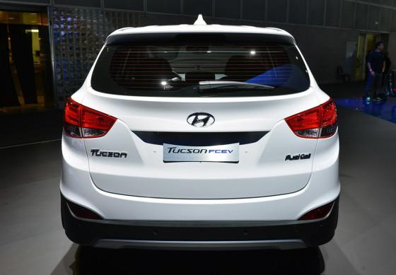 Фото багажника Hyundai Tucson 2014