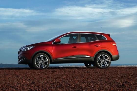 Renault Kadjar - фото сбоку